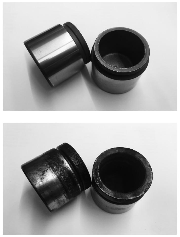 Toy-Shop-Wellington-brake-piston-old-vs-new