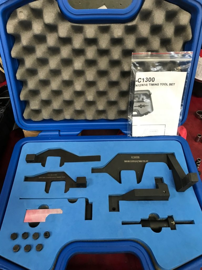 BMW-Mini-timing-tool-chain-replacement-N12-N14