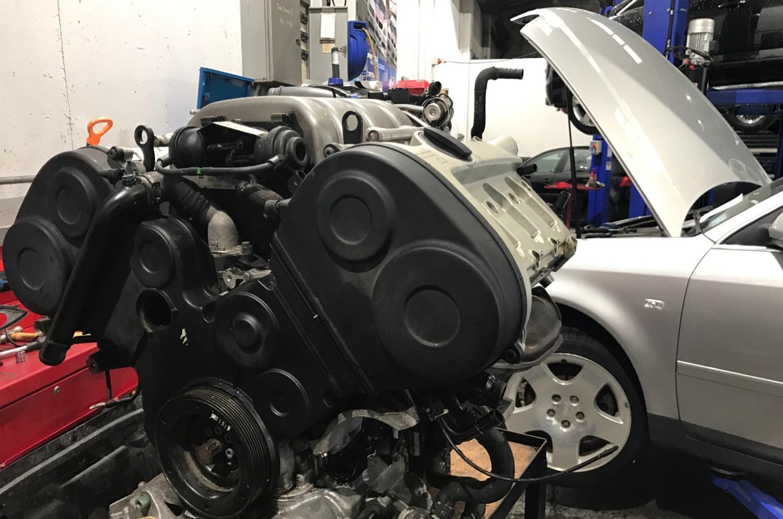 Audi A6 engine swap | Wellington European